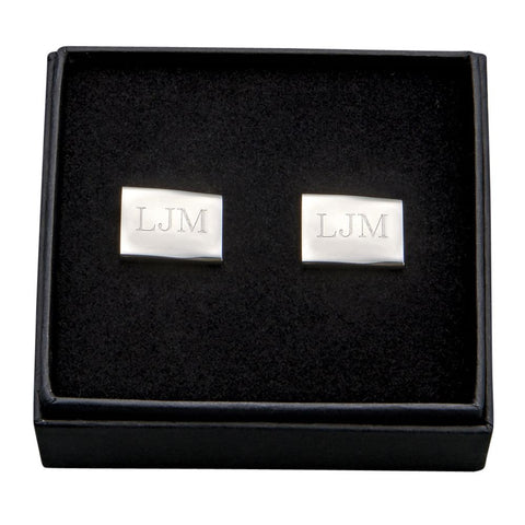 L00505 - Rectangular Cuff Links