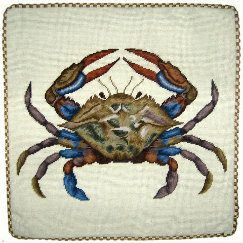 Red Claw Crab Pillow