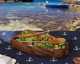 L01255 - Row Boat Salad Bowl Set