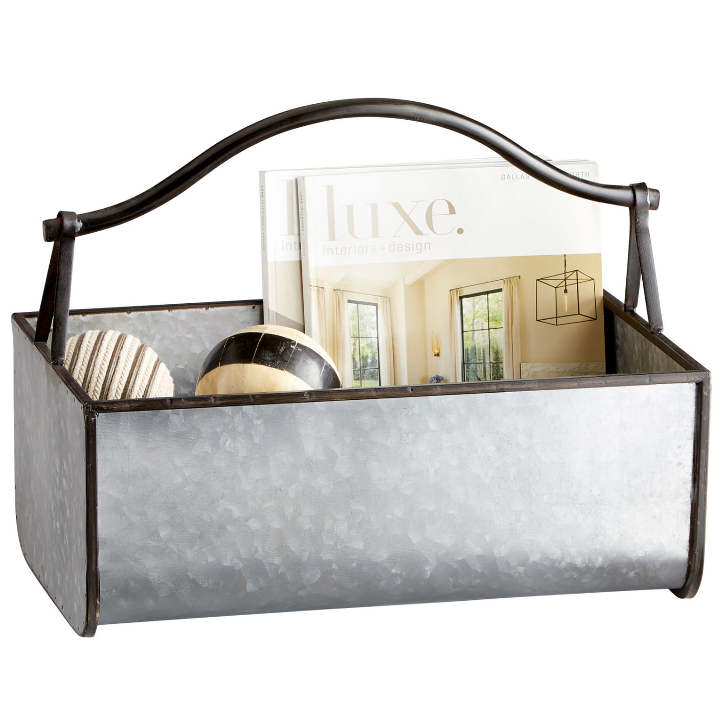 L01655 - Rustic Storage Basket