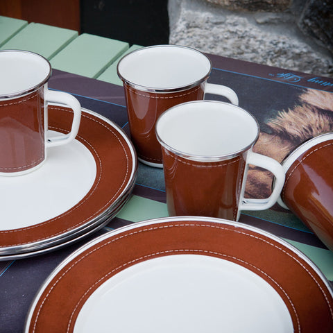 E31100 - Saddle Stitch Enamelware