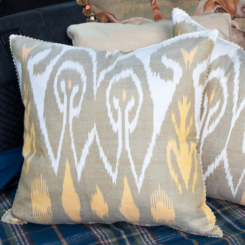 E40030 - Silk Ikat Pillow