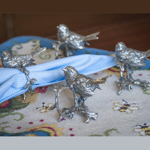 I63100 - Song Bird Napkin Rings