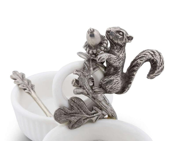 L01585 - Squirrel Double Salt Cellar