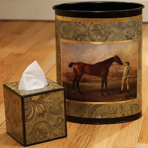 F67120 - Stubbs Wastebasket & Tissue Box