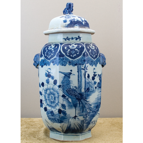 L01040 - Porcelain Tea Jar