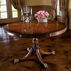 Mahogany Lion Dining Table