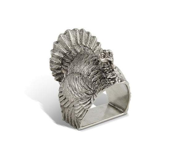 L01100 - Turkey Napkin Rings