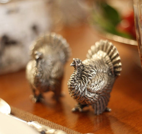 L00310 -Turkey Salt & Pepper Set