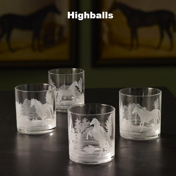 Wild Horses Crystal Collection