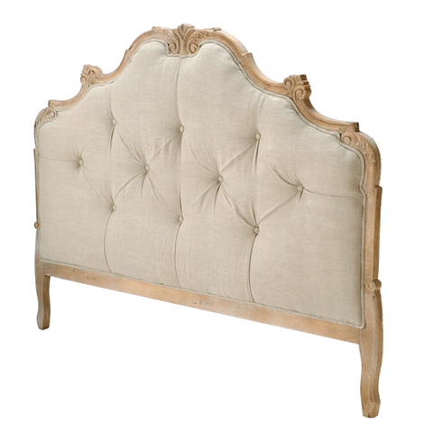 L00905 -Tufted Wood Headboard