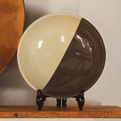 A65250 - Wooden Demi Lacquer Bowl