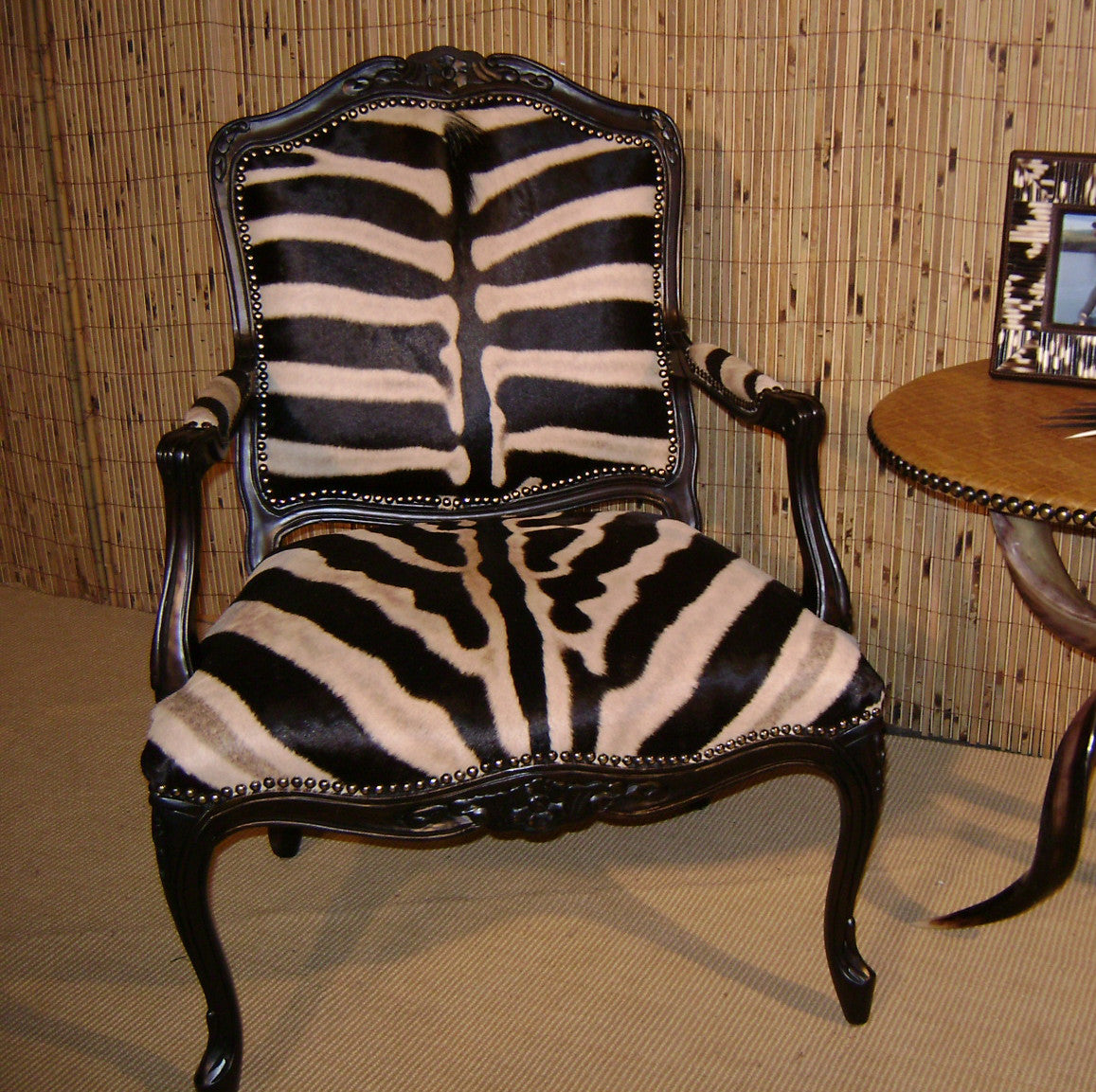 Carved Victorian Chair