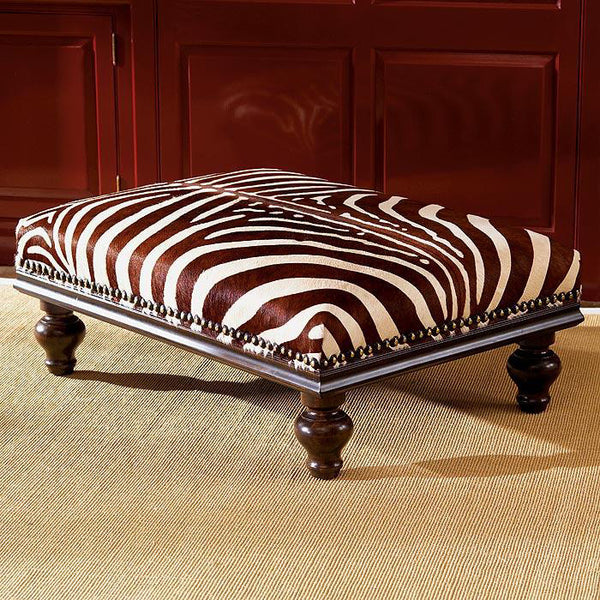 A10025 Zebra Ottoman The Source Collection