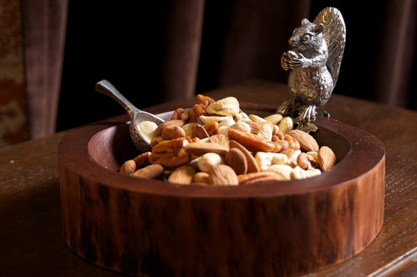 Woodland Squirrel Bowl & Acorn Scoop