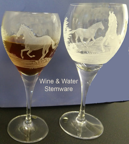 D17297 - Wild Horses Crystal Collection