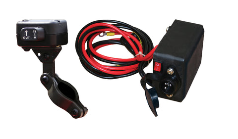 Rocker Switch & Solenoid, 2000LB - 4500LB Winch
