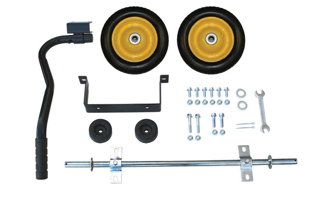 "Generator Mobility Kit with Axle, 8"" Never Flat Wheels"