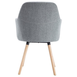 Beech Wood grey chair