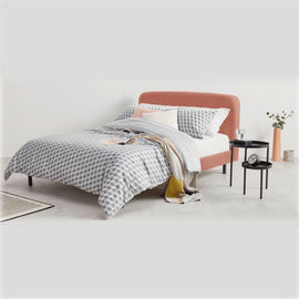 Rust Pink Bed