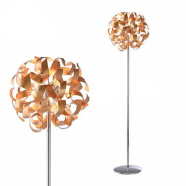 Gold Ribbon Floor Lamp