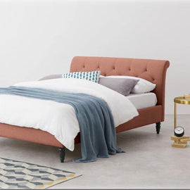 Weave Pink Bed