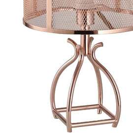40W Rose gold table lamp