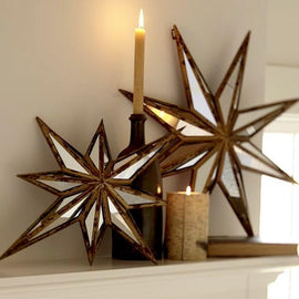 Star Mirror Decor