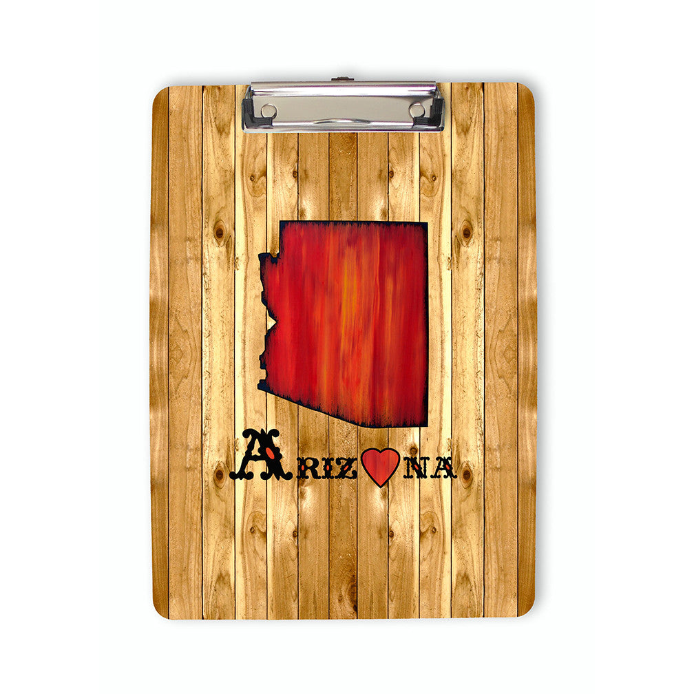 State of Arizona Clipboard front