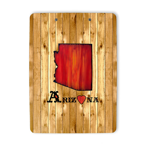 State of Arizona Clipboard back