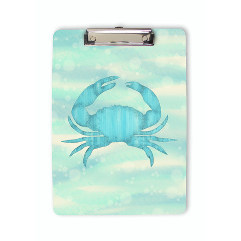 Blue Crab Nautical Clipboard