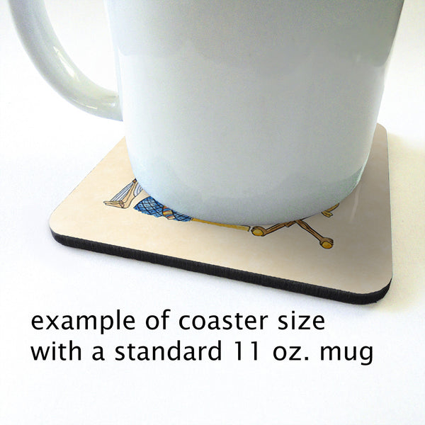 King Tut Coaster Set 2