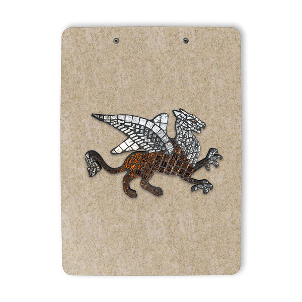 Mosaic Griffin Reproduction Clipboard back