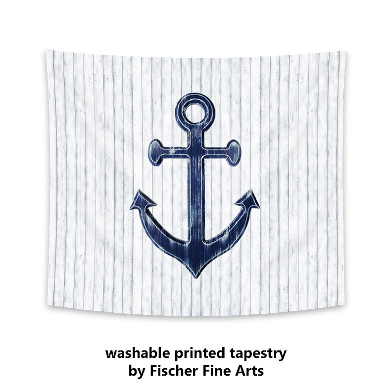 Anchor Nautical Wall Tapestry