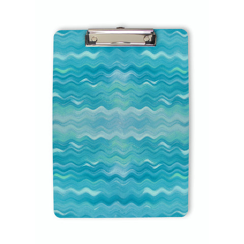 Abstract Ocean Waves Clipboard