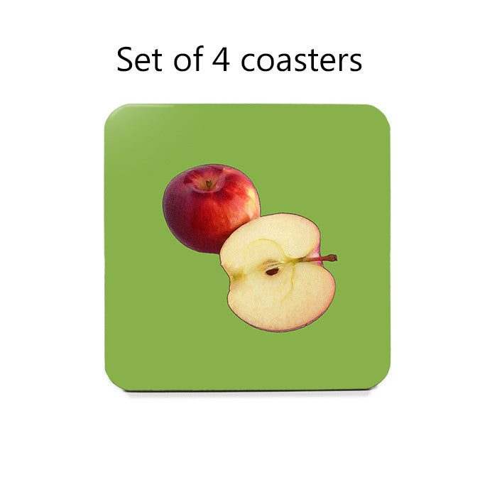 Apples Coaster Set