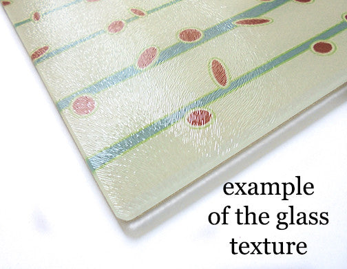 example of glass cutting board surface texture