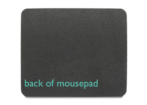 Pink and peach tribal mouse pad