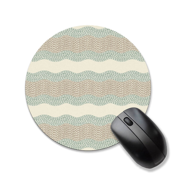 Minimalist art mouse pad, sage green