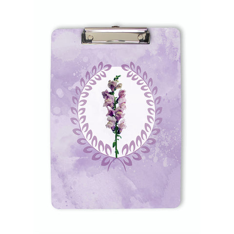 Purple Snapdragon Clipboard