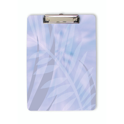 Tropical Leaves Clipboard in pastel colors