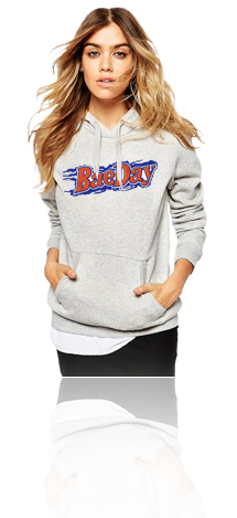 "FRESH N' CRISP™ ""BAE DAY"" FEMALE HOOD SWEATSHIRT"