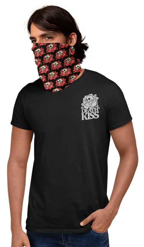 DEATH KISS® GAITER - Unisex Head / Neck Wrap + Face Mask