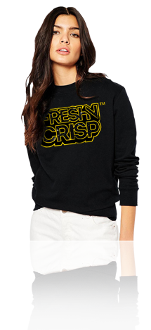 "FRESH N' CRISP™ ""THE FRESH AWAKENS"" FEMALE LS CREWNECK SWEATSHIRT"