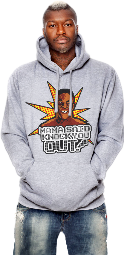 "FRESH N' CRISP™ ""MAMA SAID KNOCK YOU OUT!"" UNISEX HOOD-SWEATSHIRT"