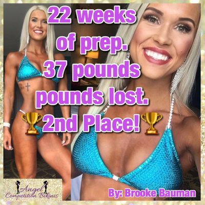 22 weeks of prep and 37 pounds lost
