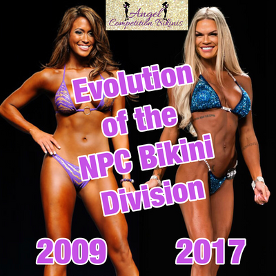 The Evolution of the NPC Bikini Division