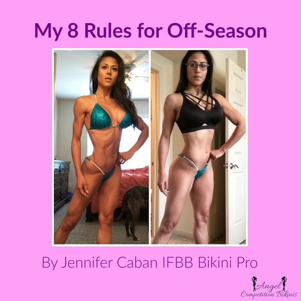 Off-Season Rules from IFBB Bikini Pro