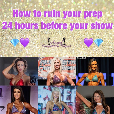 How to ruin your prep 24 hours before your show