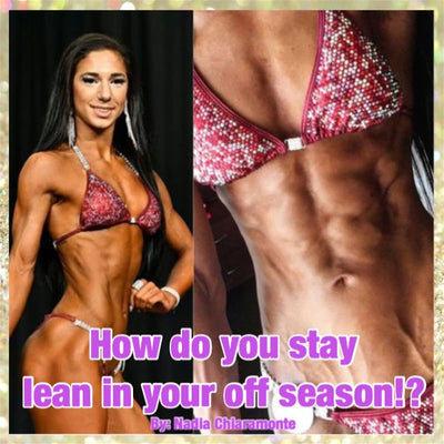 How do you stay so lean in your off season?